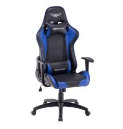 Cadeira Gamer Santino Strike - Azul