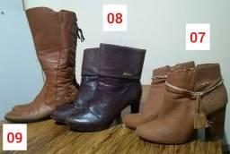 Lote de sapatos n° 38
