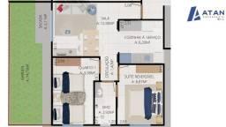 Apartamento para Venda em Ananindeua, Levilândia, 2 dormitórios, 1 banheiro, 1 vaga