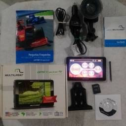 Título do anúncio: GPS Tracker TV MULTILASER, Touchscreen 5.0