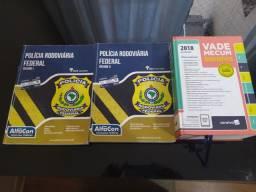 Apostila Alfacon vol I e II PRF + vade Mecum 2018 Saraiva