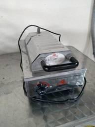 Máquina crepe suíço e picolé quente