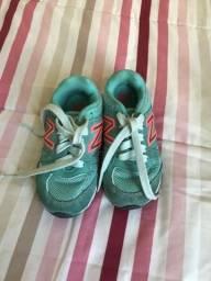 Lote sapatos menina