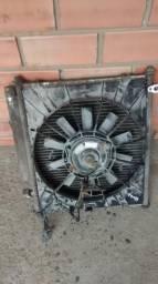 Condensador c/ventoinha do Honda fit 1.4