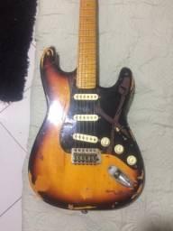 Guitarra captadores fender custom