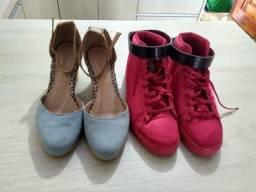 Sapatos novos e baratos
