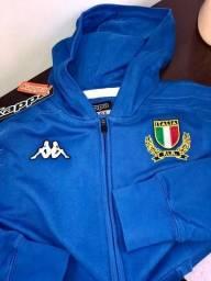 9c77c5adf6 Casaco Jaqueta Seleção da Italia de Rugby Kappa Importado
