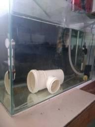 Vendo aquário 44 Litros