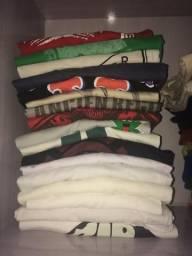 Lote de camisas de marcas ORIGINAIS P/M