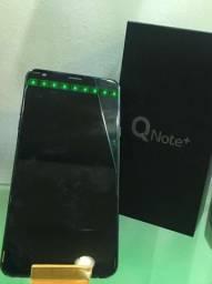 LG Q Note+, Preto, 64GB, 4GB Ram, 16Mpx, Caixa Original