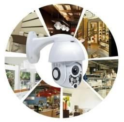 Câmera Segurança Externa Wifi, Spd, Prova D'água, Android, Iphone Wi-fi