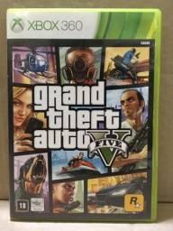 Jogo Gta 5 Xbox 360 Usado Funcionando 2 Discos Originais