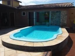 Casa 5 suítes, piscina e sauna, armários, climatizada - Mirante da Lagoa