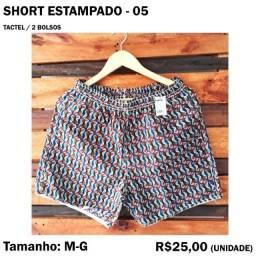 Título do anúncio: Short Tactel - Modelo 05