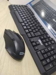 Kit Mouse + Teclado sem fio