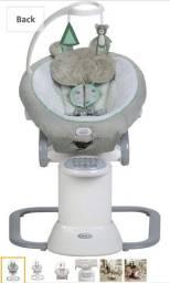 Balanço Bebê Graco -eua Novo Apenas 6 Meses De Uso