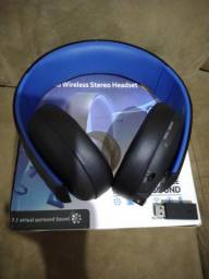 Headset Sony Gold Witelss PS4