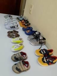 Sapatinhos e sandálias masculinos