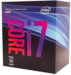 Kit Intel Core i7 8700 4.6ghz + placa mãe