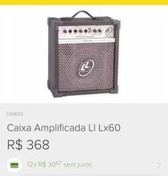 Vendo caixa amplificada lx60
