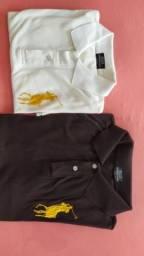 Camisa polo preta e branca original - Ralph Lauren *R$50 cada
