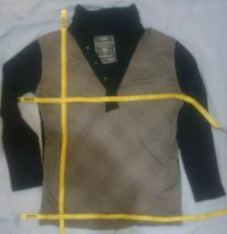 Camisa Manga Longa Efeme P Preto Usado