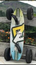 Skate com motor elétrico dropboard