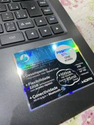 Notebook positivo core 2 quad aceito cartão