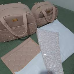 Vendo kit bolsa com trocador