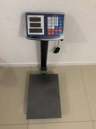 Balança de Plataforma Comercial Digital, 180kg