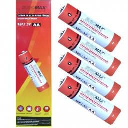 Pilha 2A comum tubo com 60 unidades