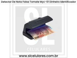 Promoção Detector De Nota Falsa Tomate Myc-01 Dinheiro Identificador