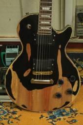Guitarra Les Paul Reliqued TOP Caps EMG81/85 Braço Colado