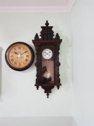 Relógio antigo alemão funcionando semi carrilhão