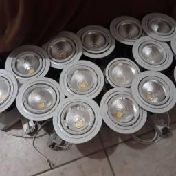 Luminárias de led imbutir