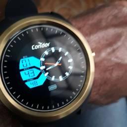 Relógio Condor Digital touch screen zerado na caixa completo top.