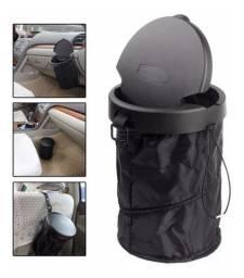 Mini Lixeira Carro Porta Lixo Car Bag Retrátil Taxi Uber
