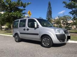 Fiat Doblo 7 lugares - Bancos de Couro