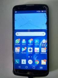 LG K10 Tela Trincada Não Atrapalha Nada Uso Normal