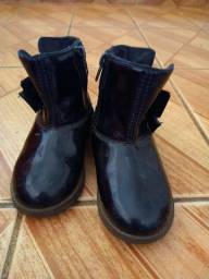 1 Par de botas preto infantil