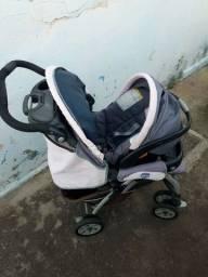 Carinho de bebê c/ bebê conforto CHICO