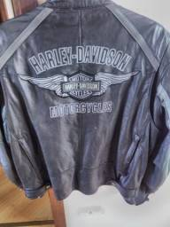 Jaqueta Harley Davidson de Couro Clássica Masculina