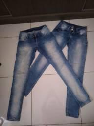 2 Calças jeans sawary
