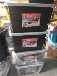Pacote promocional 5 container 30 litros