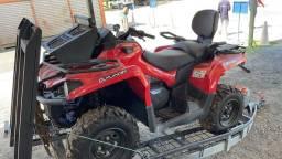 QUADRICICLO CAN AM OUTLANDER 570 cc