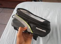 Bolsa de bike para celular quadro