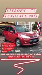 C3 Tendance 1.5 8v Flex Completo 2013 - Só R$ 29.990,00