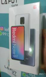 Xiaomi Redmi Note 9 Pro verde 128GB + 6GBRam Lacrado