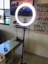 Ring Light com Tripé - 2 Metros - Aceitamos cartoes/PIX