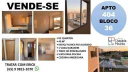 Título do anúncio: Apartamento nunca usado no Parque Chapada do Mirante com 2 dormitórios